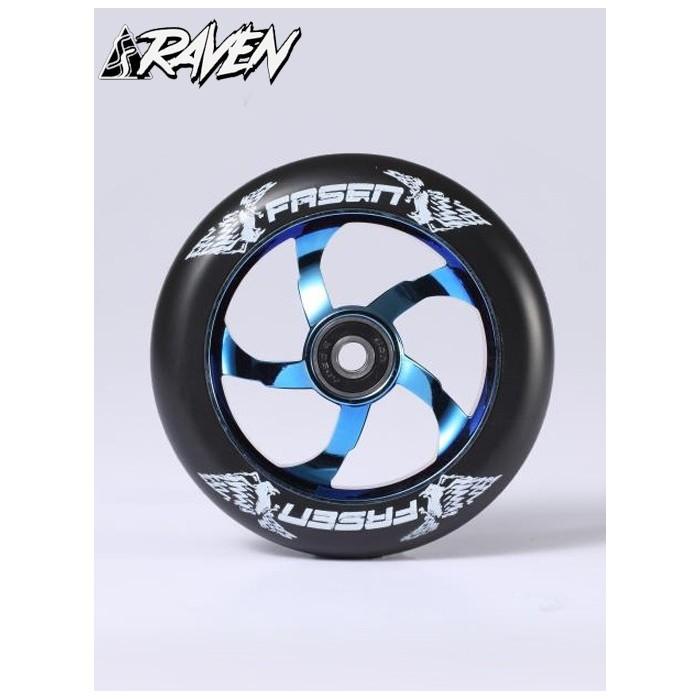 fasen-raven-110mm-wheel-blue