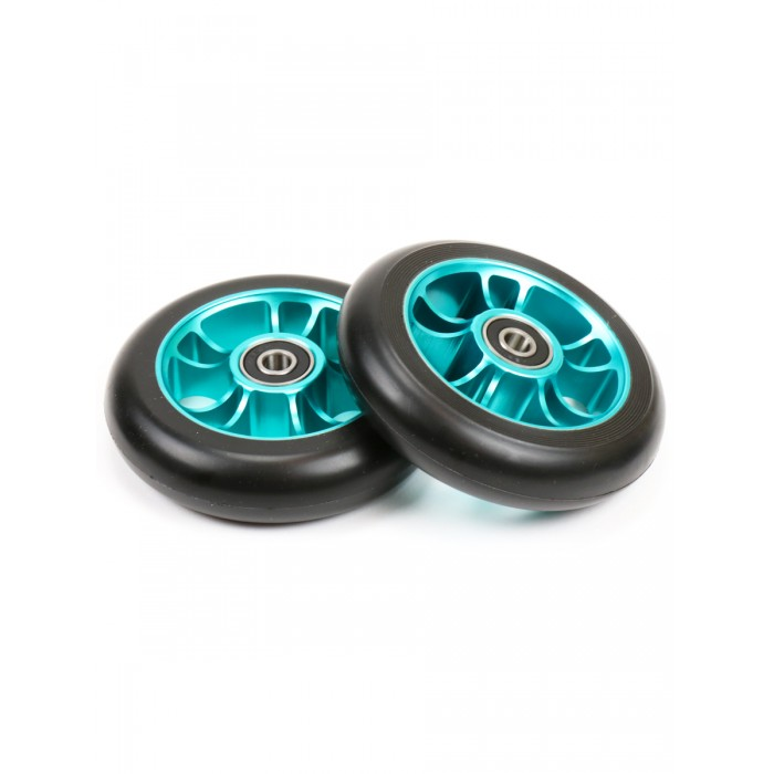 blunt-10-spokes-wheel-100mm-teal