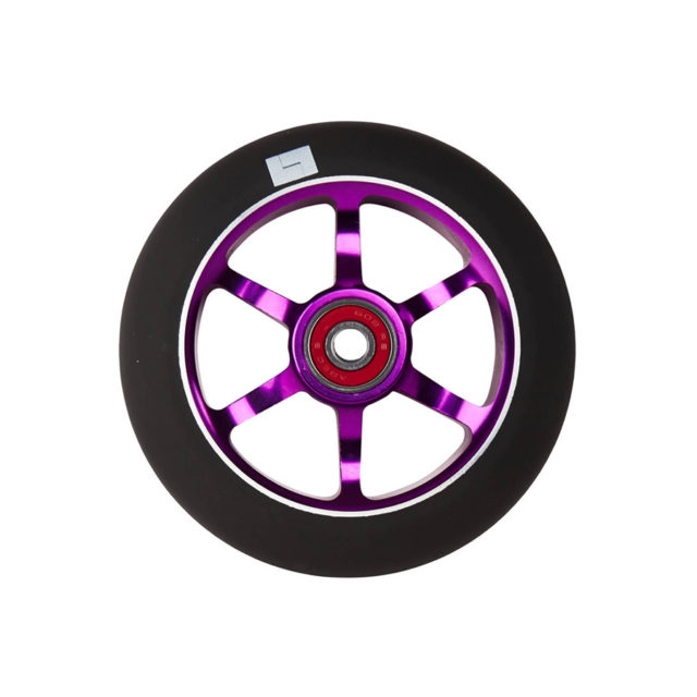 logic-6-spoke-110mm-pro-scooter-wheel-purple