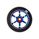 logic-6-spoke-110mm-pro-scooter-wheel-blue