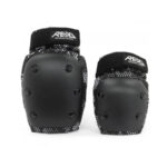 rekd youth heavy duty double pad set grey2