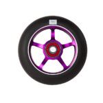 logic-5-spoke-100mm-pro-scooter-wheel-purple