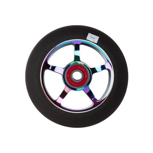 logic-5-spoke-100mm-pro-scooter-wheel-neochrome