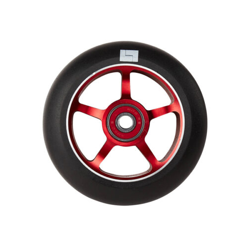 logic-5-spoke-100mm-pro-scooter-wheel-red