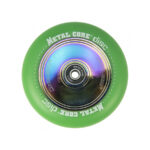 Metal Core Disc 110 mm green wheel1