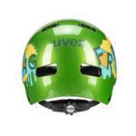 Uvex kid 3 kiiver – green2