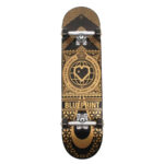 blueprint home heart complete skateboard gold