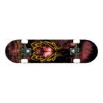 renner skateboard B23 Tribal Skull1