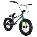 wildcat pro digy 16 bmx freestyle bike neochrome