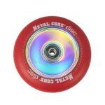 Metal Core Disc 110 mm castor red1
