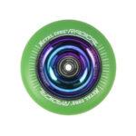 Metal Core Radical Rainbow 110 mm green wheel1