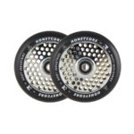 root-honeycore-black-110mm-2-pack-pro-scooter-wheels-chrome