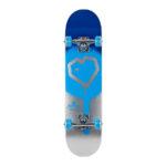 blueprint-spray-heart-v2-complete-skateboard-blue silver