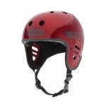 Pro-Tec Full Cut Helmet – Red Metal Flake