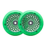 root-lotus-pro-scooter-wheels-2-pack-Radiant Green