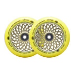 root-lotus-pro-scooter-wheels-2-pack-Radiant Yellow