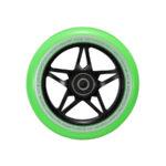 blunt envy s3 scooter wheel 110mm black green