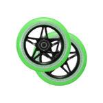 blunt envy s3 scooter wheel 110mm black green2