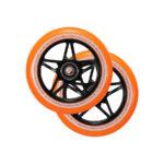 blunt envy s3 scooter wheel 110mm black orange2