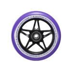blunt envy s3 scooter wheel 110mm black purple