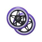 blunt envy s3 scooter wheel 110mm black purple2