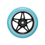 blunt envy s3 scooter wheel 110mm black teal