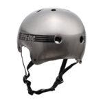 ProTec Old School Helmet Metallic Grey1