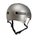 ProTec Old School Helmet Metallic Grey2